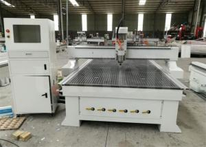 4 Axis Wood Cnc Router Machine / Cnc Router Metal Cutting Machine