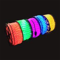 Multi color 12/24v/110/220v wide range voltage high quality Christmas 50/100M roll decorating LED rope light CE ROHS ETL