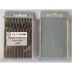 China China HSS Twist Drill Bit Manufactory Fully Ground 4mm Cobalt Drill Bits For Metal Working on sale