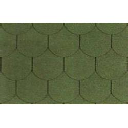 Architecture lightweight fish scale asphalt shingles red for Fish scale shingles