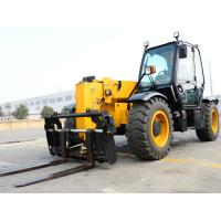 XC6-3507 Mini 3.5 Ton Telescopic Telehandler Forklift Earthmoving Machinery  Used to Handle Loose Materials