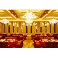 Leather Acoustic Panel Finished Movable Folding Wooden Partition Walls for Hotel
