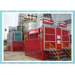 China Rack And Pinion Construction Hoist Equipment / Construction Elevator Rental on sale