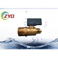 Mini Brass Water Shut Off Valve , Copper Ball ValveFor Water Air / Gas