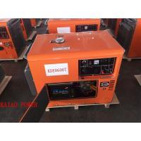 Enclosed Shop Small Ultra Silent Generator Fuel Efficient AVR Excitation System