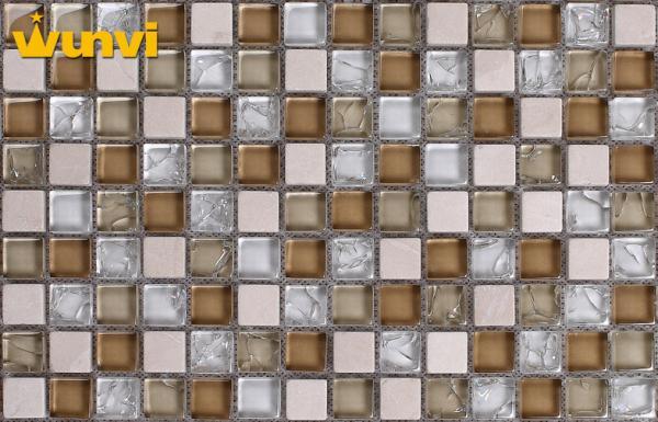 Glass ceramic tiles