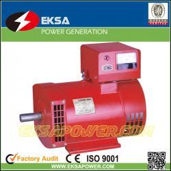 China ST single phase STC three phase Serise Brush Alternator AC Electric Generator Set 3kw To 50kw price list for Family on sale