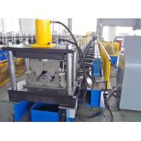 Two Waves Steel Roll Forming Machine / Portable Metal Roofing Machine High Accuracy