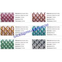 Flexible woven wire fabric