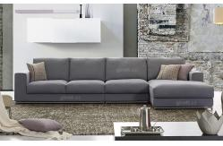 Sofá cama moderno púrpura de la tela para los muebles ... - photo#42