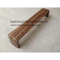 water transfer furniture handles, make aluminum handles looks like wood