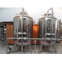 Electric Drinking Water Filter System For Liquid Filling Equipment