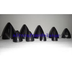 China Custom Carbon Fiber Spinner RC Plane Accessories For Model Aircraft on sale