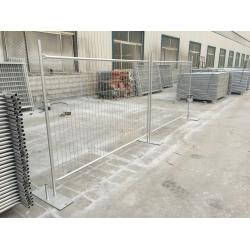 China Brisbane temporary fencing panels for sale 2100mm x 2400mm in stock www.crowdcontrolbarriers.net.au on sale