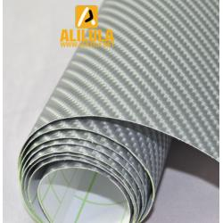 China 4D High Air Free Carbon Fiber Vinyl Car Wrap Sheet Film Sticker Body Kit on sale
