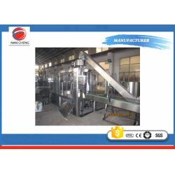 China Small Scale Soda Bottling Equipment 11KW , Carbonated Beverage Filling Machine PLC Control on sale
