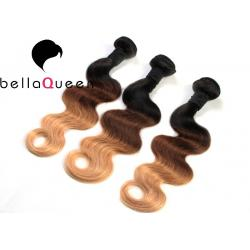China Ombre Body Wave Brazilian Virgin Human Hair 10-32 For Black Women on sale