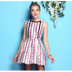 China wholesale brand women dress women apparel fashion women clothing wholesale brand fashion BL858-pink-c on sale