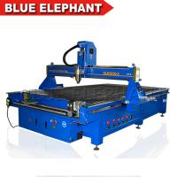 Blue Elephant Large Size 2030 4 Axis Engraving Wood Cnc Router Machine Price Sale in India