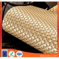 golden color 4X4 weave style Textilene mesh fabrics high strong  tension