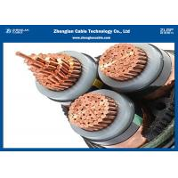 IEC 60502 3Cores Armored Cable, MV XLPE insulated Cable 12/20KV(CU/XLPE/STA/NYBY/NYRGBY/NYB2Y)