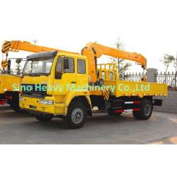 China Custom Diesel Truck Mounted Crane , 3000 KG/3T Telescoping Boom Crane SQ5SK3Q on sale