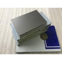 Lightweight Aluminum Honeycomb Core PanelsHigh Strength For Rail Construction