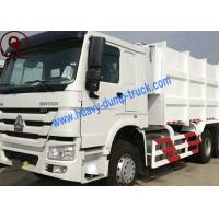 Manual Operation Sinotruk HOWO 15m3 Capacity Garbage Compactor Truck