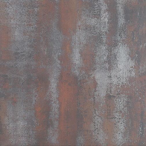 red rust metal look tile 600x600mm metal stone glazed. Black Bedroom Furniture Sets. Home Design Ideas