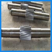 Precise Machining Alloy Steel Forging Gear Shaft / Central Shaft For Crane Driving Wheel