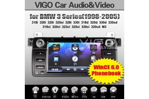 bmw e46 320ci 330d m3 car dvd gps sat nav radio stereo