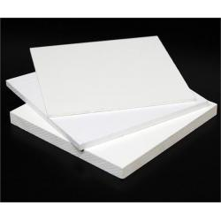 China Rotproof 10mm Shop White PVC Board / Foam Board Insulation For Decorative on sale