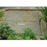 LTA Floor Trough Drain Grates , Galvanised Drain Cover Security Design