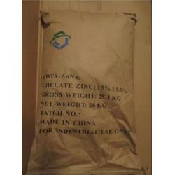 China Zn EDTA Chelated Micronutrients Water Soluble White Powder 6.0-7.0 PH CAS 14025-21-9 on sale