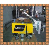 Electric Internal Wall Rendering Machine 650mm Width Plaster Speed 70 m²/h for Construction Sites