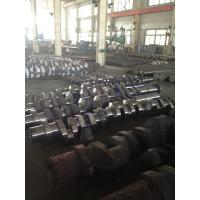 ABS, DNV, BV, NK,CCS Approved Custom Forged Alloy Steel Crank Shaft Forging Ratio >4.5
