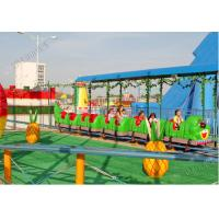 9KW Power Amusement Park Roller Coaster 6 - 9km/H Speed 14 Person Crew
