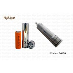 China Stainless Electronic Mechanical Mod E Cig , Vapcigar Hades 26650 Mod on sale