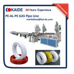 China PE-AL-PE Pipe Making Machine 16mm-32mm/Gas PE-AL-PE Pipe Extrusion Machine on sale