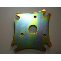titanium / Zinc / Aluminum Machined Parts high speed machining Threading