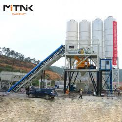 China HZS60 Module Cement Batching Plant on sale