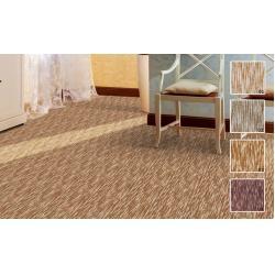 China Machine Made Golden Printed Wool Blend Carpet , Home Wool Pile Carpet on sale