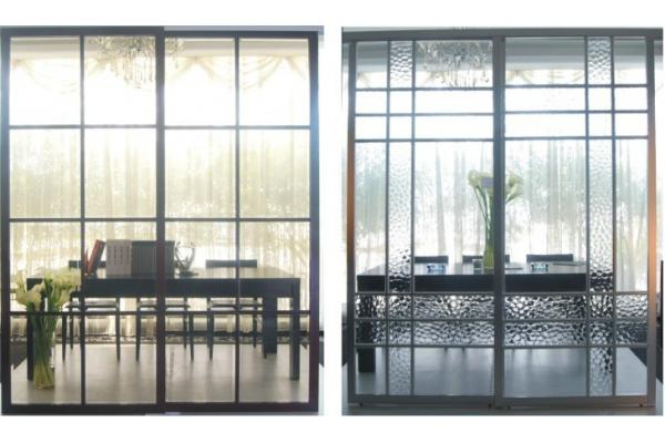 Glass Room Dividers Partitions partition aluminum sliding doors for living room, durable