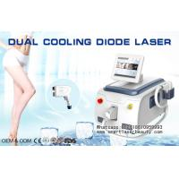 Portable Germany Diode Laser Hair Removal Machine  / Comfortable 810nm Laser Hair Removal