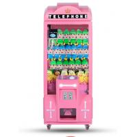 Metal Or Wood Material Claw Crane Machine  / Commercial Stuffed Toy Vending Machine