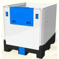 HDPE Plastic Foldable IBC Container 1200L For Food And Chemical Storage