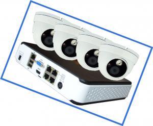 Mouse control 960P 4 PCS IP Network Doom CCTV home security Camera Kits Indoor