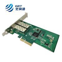 F902E 1000Mb Dual-port Fiber Optic SFP Bypass Network Adapter Card