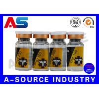 Medication Pharmaceutical Custom Vial Sticker PET / PVC  CMYK