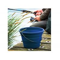 Protbale Practical Collapsible Silicone Fishing Bucket For Outdoor Travel